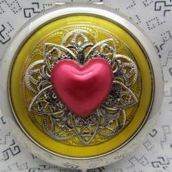 Compact Mirror Be My Valentine
