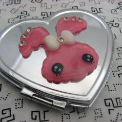 Funny Bunny Compact Mirror