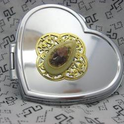 Compact Mirror A Rose For You